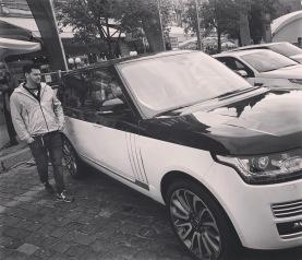 Red Square auto show